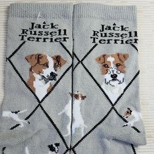 NEW *JACK RUSSELL TERRIER socks